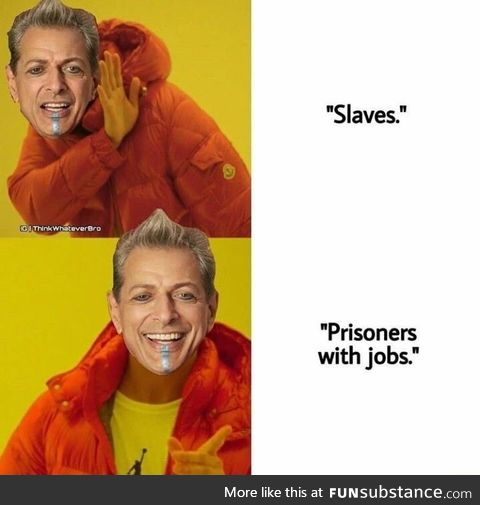 Prisoners with jobs