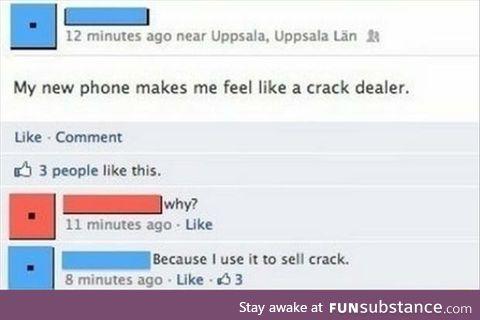 Like a dealer