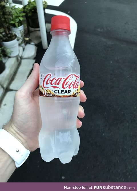 Interesting choice by Coca-Cola in Japan