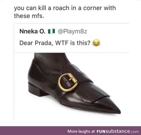 Special shoes for killing