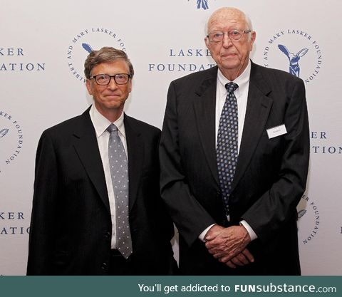 Often unrecognized in his sons success, Bill Gates sr, now 92