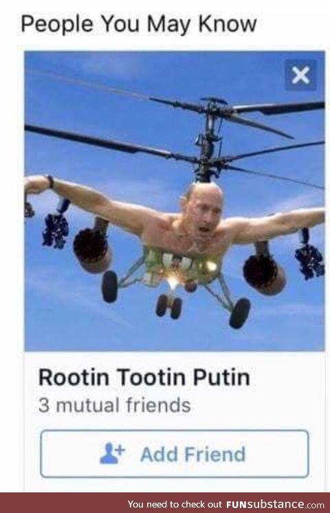Rootin Tootin Putin
