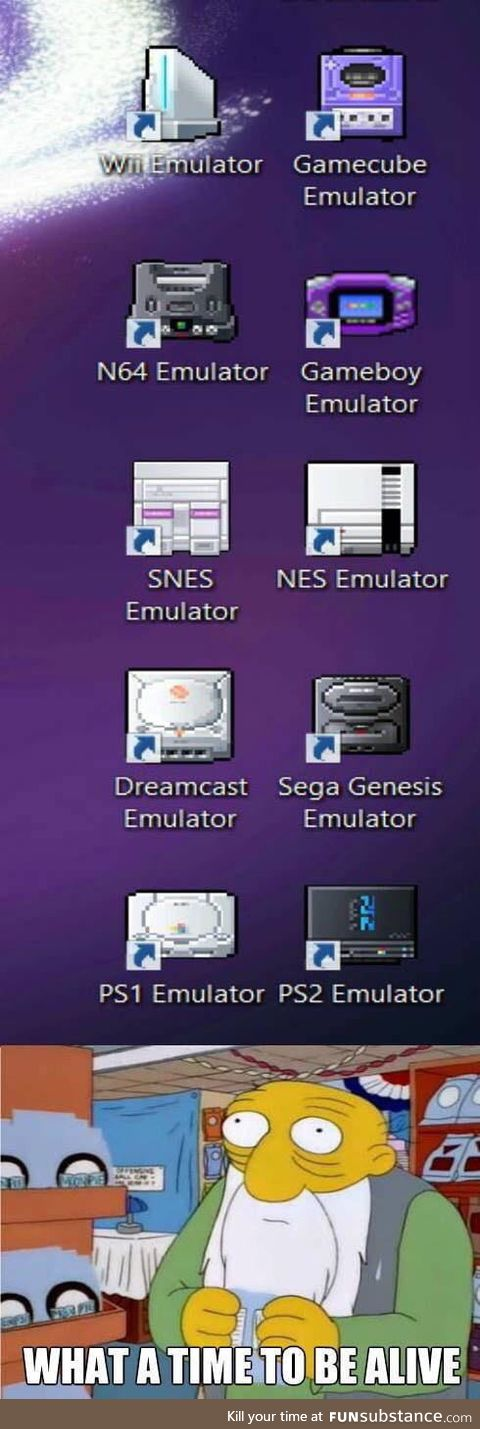 All consoles in one machine. Who needs a SNES Classic or a N64 Classic?