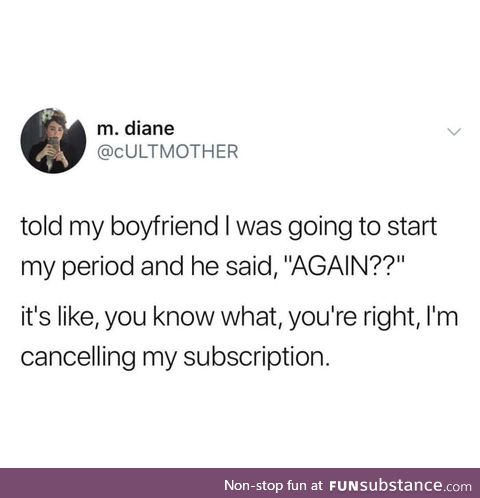 Woman's subscription