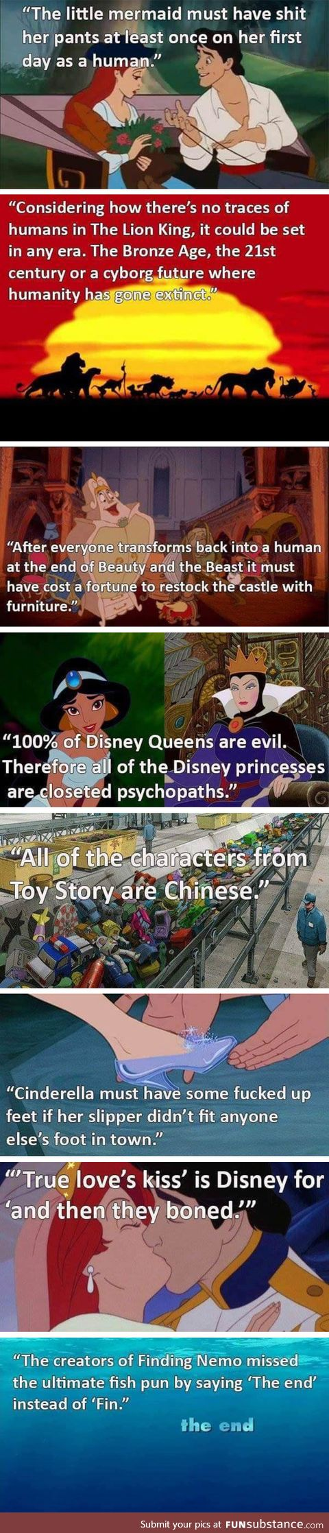 Something to think about: Disney edition