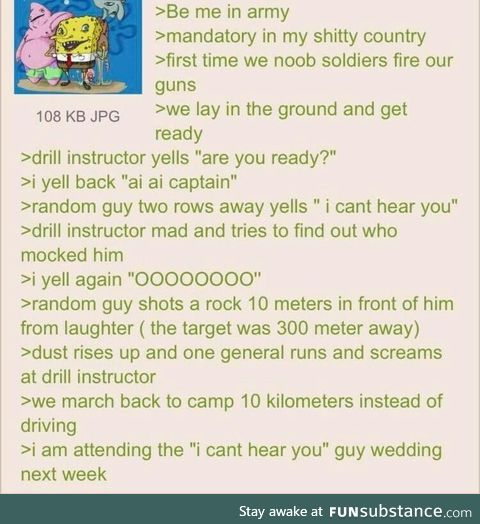 Anon is a soldier