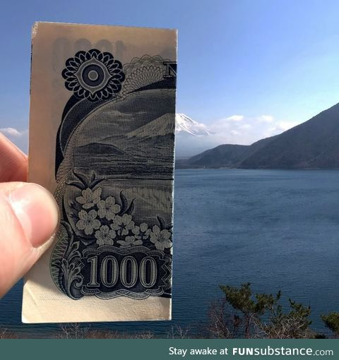 The ¥1000 view!