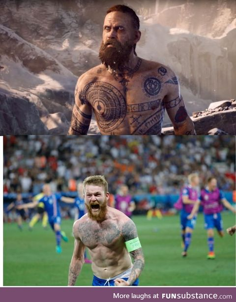 Icelandic player seems legit viking