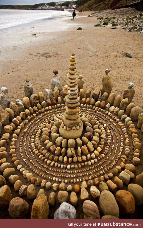 Rock stacking at its best