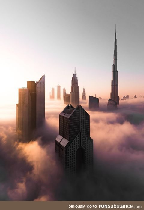 We get it, you vape [Dubai in the clouds]