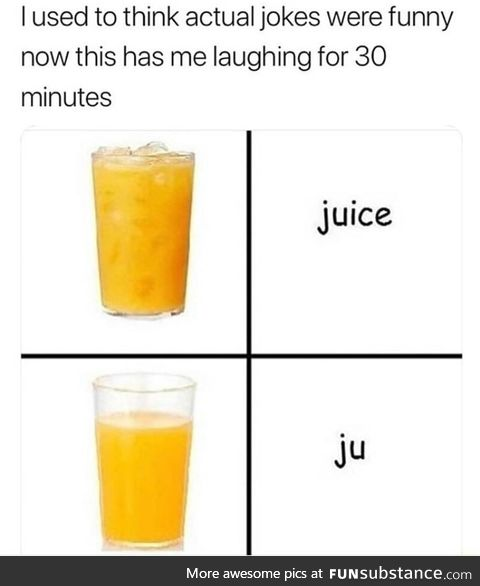 Juice without ice