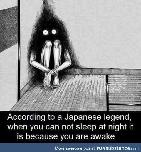 Japanese legends are too spooky