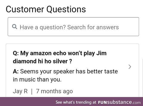 Found on Amazon's echo FAQ