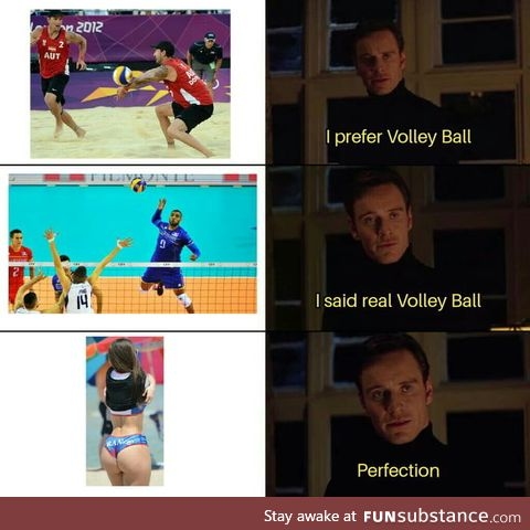 The REAL reason why I love playing (and watching !) Volley-ball