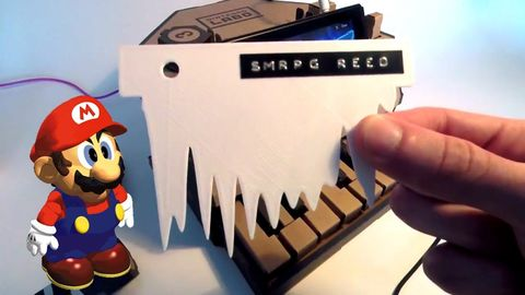 The dude made his own sound cards for the Nintendo LABO piano. Even got it to kinda-talk!