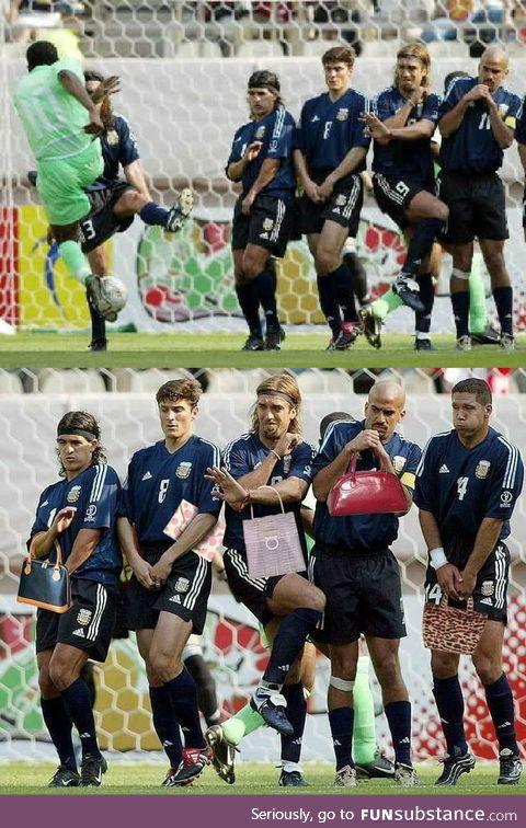 Argentina vs Nigeria (2002 World Cup)