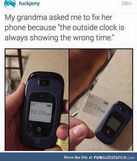 Technology at first