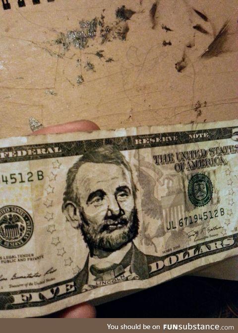 5$ bill murray