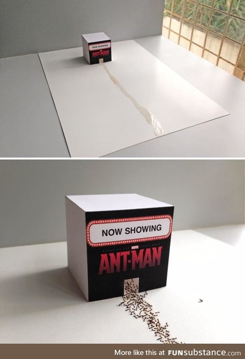 Antman is out