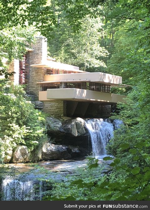 You can't take a bad picture of this architectural masterpiece: FallingWater