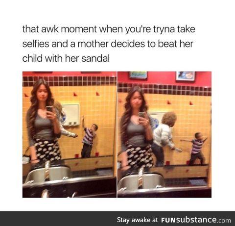 Interesting selfie