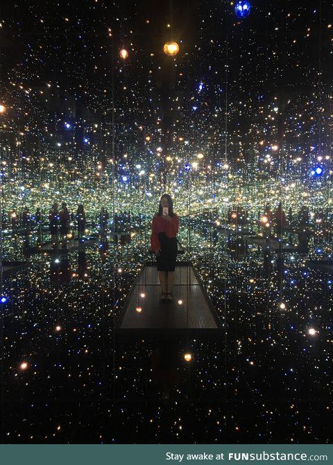 Infinity mirrors - yayoi kusama, atlanta