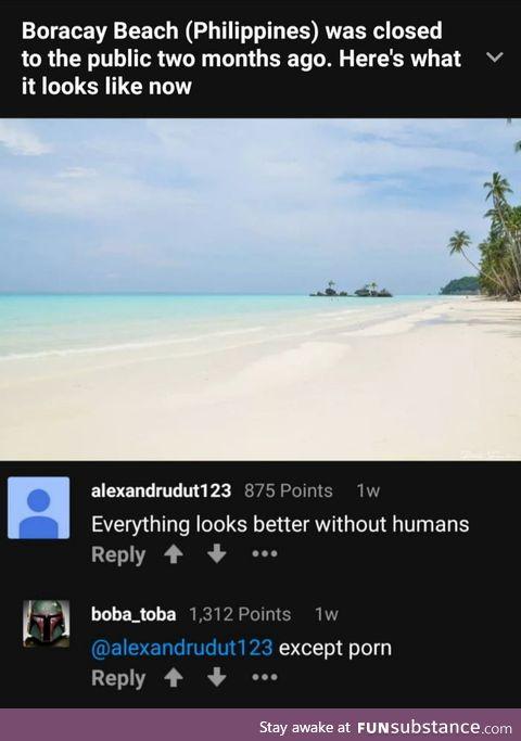 Well, he's not wrong