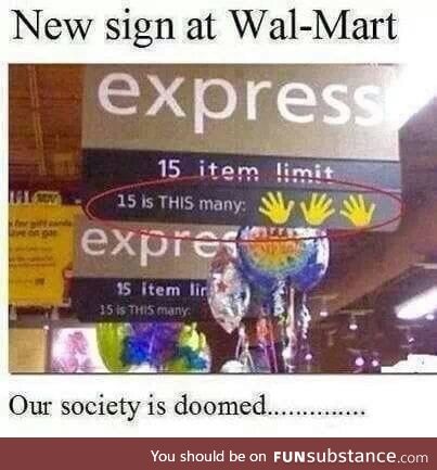 Our society is doomed