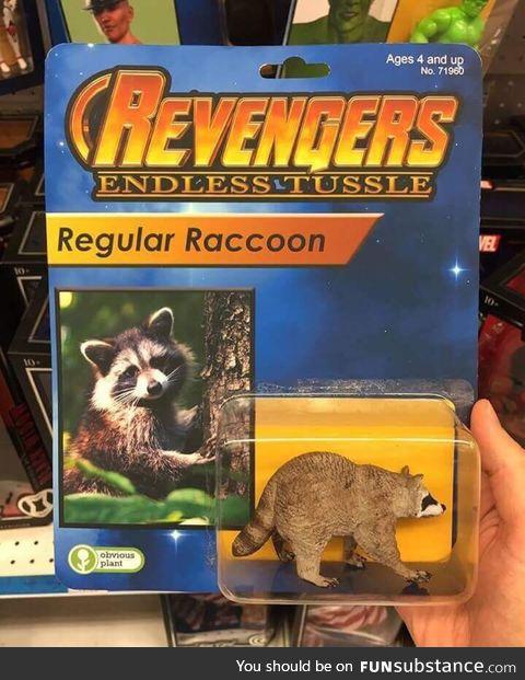 Revengers raccoon