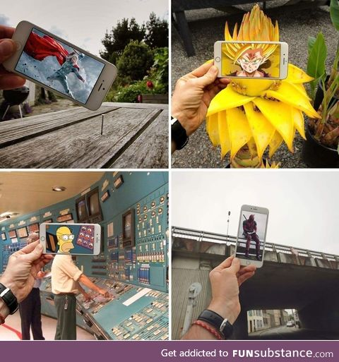 Photos in real life