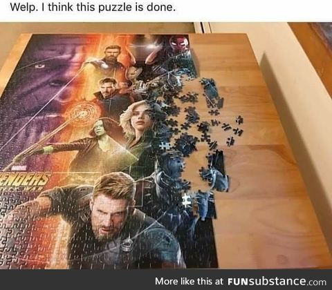 The puzzle is done