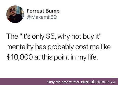 It really adds up
