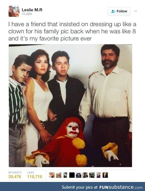 Greatest family picture of all time