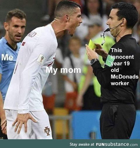 Why mom?
