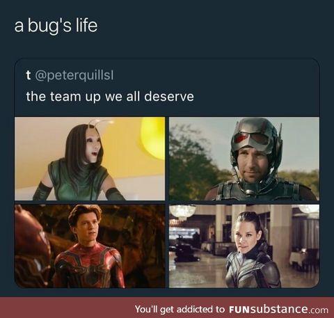 A bug's life, Marvel edition