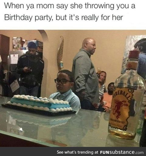 Not your party