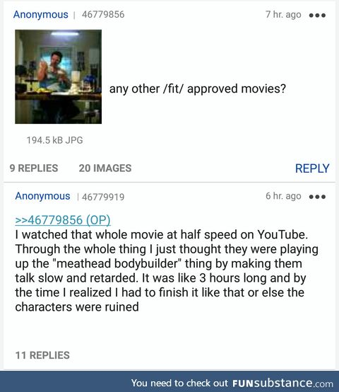 /fit/izen makes a mistake watching Pain & Gain