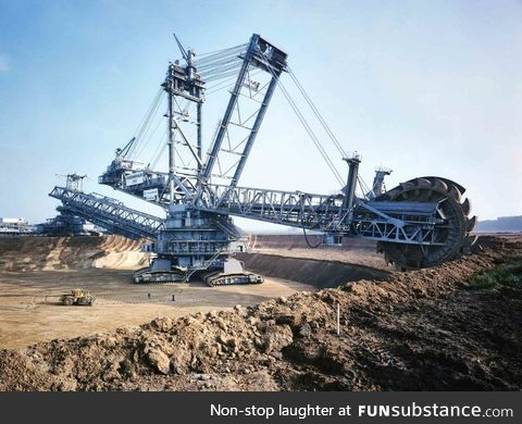 World Record for the biggest land machine: Bagger 288