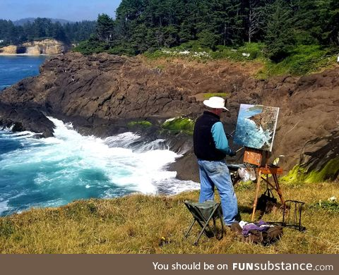 Great painter