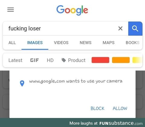 Who you calling a loser?