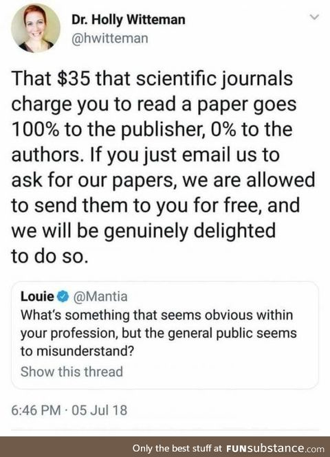 How to get a scientific paper for free