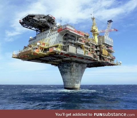 You may not like oil but this platform is undeniably cool