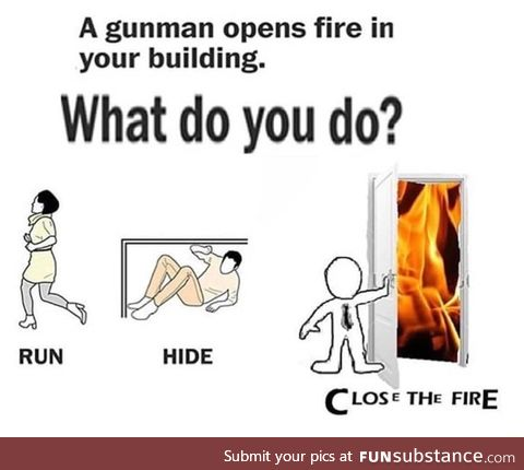 Close the fire