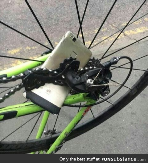 The real definition of bad luck