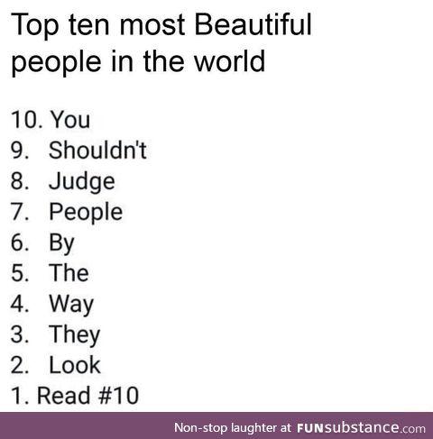 Most beautiful people