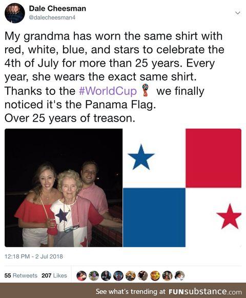 Grandma is a traitor!