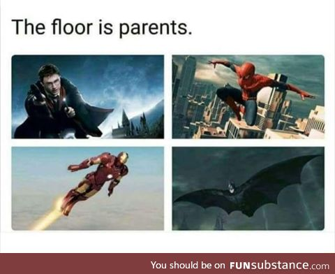 The floor is parents