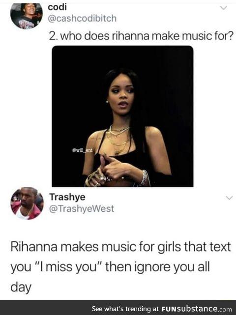 Rihanna listeners