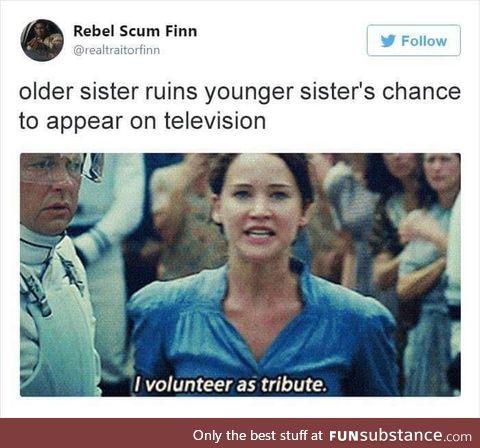 Selfish sister
