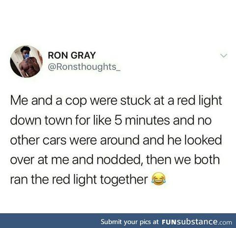 Good guy cop